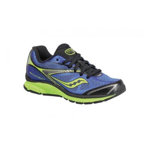 saucony boys kinvara 4 running shoe kid blue